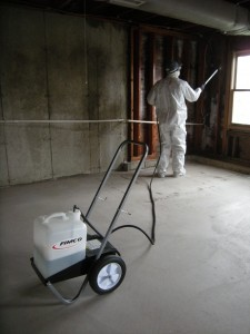 Norm Spraying for Mold